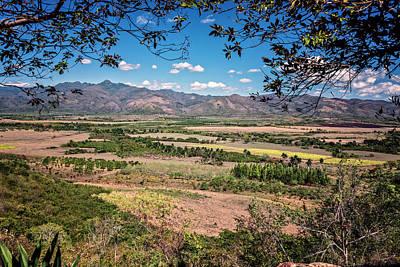 Photograph - Valley Of The Sugar Mills Trinidad Cuba by Joan Carroll