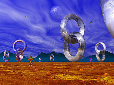 Photograph - Valley Of The Vloops by Mark Blauhoefer