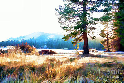 Photograph - Valley Paint Yosemite California  by Chuck Kuhn