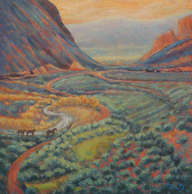 Painting - Valley Passage by Gina Grundemann