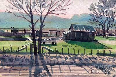 Valley Ranch Art Print