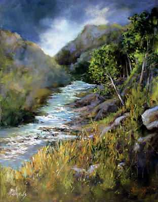 Painting - Valley Rapids by Rae Andrews