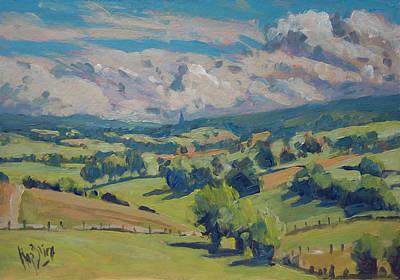Painting - Valley Schweiberg by Nop Briex