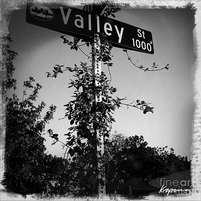 Photograph - Valley Street, 1000 Block by Greg Kopriva