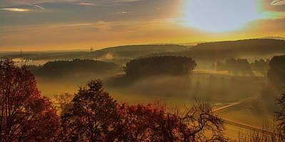 Photograph - Valley Sunrise - Germany by Pixabay