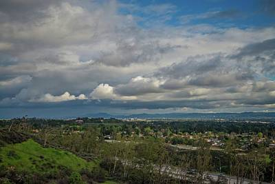 Photograph - Valley View From Porter Ranch by Lynn Bauer