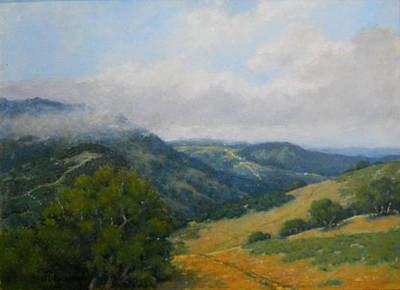 Painting - Valley View by Marv Anderson