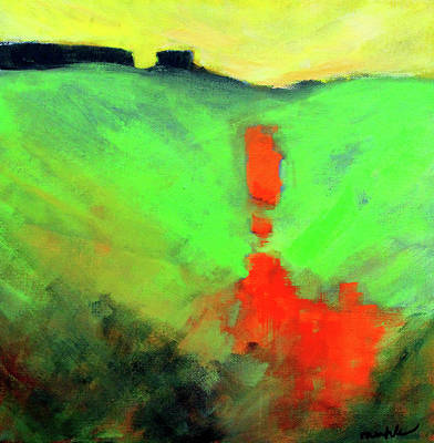 Painting - Valley View by Nancy Merkle