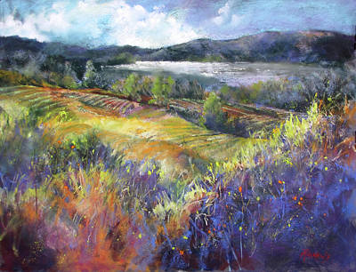 Painting - Valley View by Rae Andrews