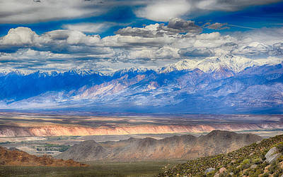Photograph - Valley,mountains And Sky by AJ Schibig