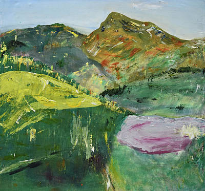 Painting - Vally Of Rest / View From O'rourke's Table / Leitrim Landscapes by Dawn Richerson