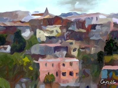 Valparaiso - Chile Art Print by Carlos Camus
