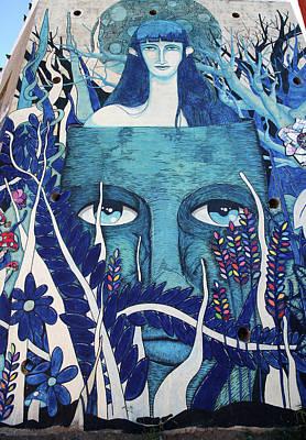 Photograph - Valparaiso Street Art 18 by Aidan Moran