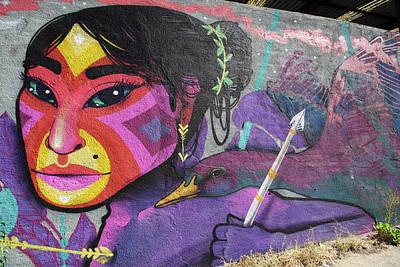 Photograph - Valparaiso Street Art 20 by Aidan Moran