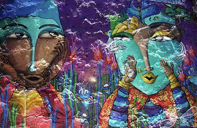 Photograph - Valparaiso Street Art 22 by Aidan Moran