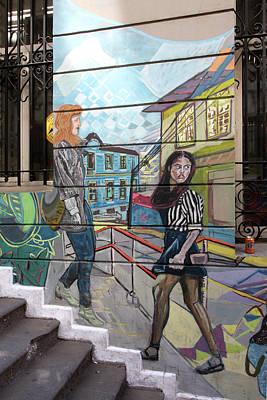 Photograph - Valparaiso Street Art 28 by Aidan Moran
