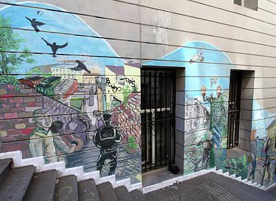 Photograph - Valparaiso Street Art 29 by Aidan Moran