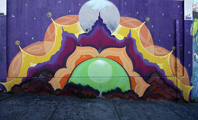 Photograph - Valparaiso Street Art 34 by Aidan Moran