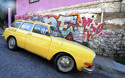 Photograph - Valparaiso Street Art 37 by Aidan Moran