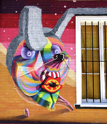 Photograph - Valparaiso Street Art 39 by Aidan Moran