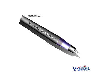 Digital Art - Valu Pen Gift -  Display Only by Dale Turner