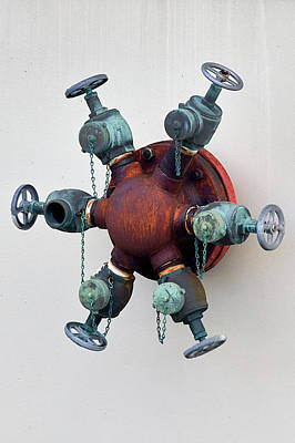 Photograph - Valves by David Beebe