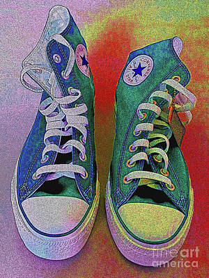 Converse Digital Art - Vamba 2017 04 by Don Pedro De Gracia