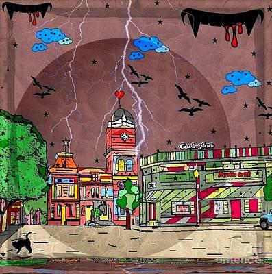 Digital Art - Vampire/ Covington By Nico Bielow by Nico Bielow