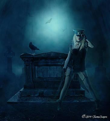 Vampire Hunter Original by T Dilley