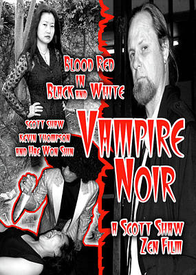 Photograph - Vampire Noir by The Scott Shaw Poster Gallery