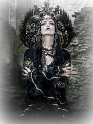 Queen Vampire  0078 Art Print