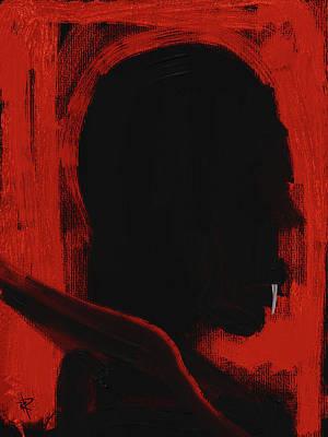 Mixed Media - Vampire by Russell Pierce