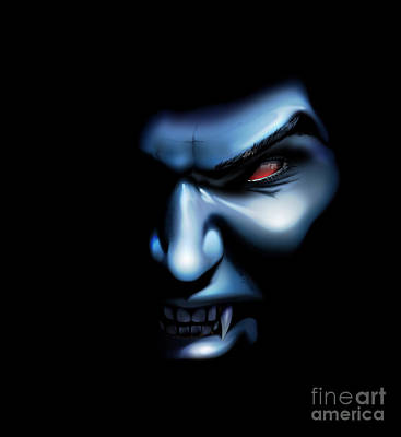 Digital Art - Vampires Rage by Brian Gibbs