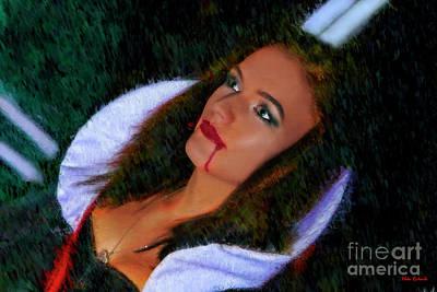 Photograph - Vampiress by Blake Richards
