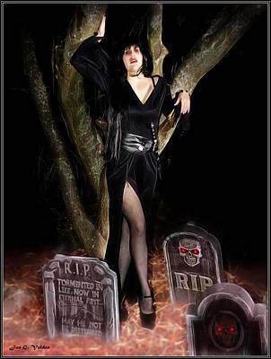 Painting - Vampirilla by Jon Volden