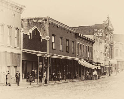 Photograph - Van Buren Main Street by James Barber