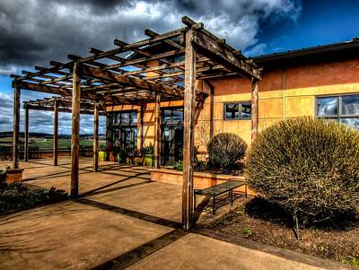 Photograph - Van Duzer Vineyards by Thom Zehrfeld