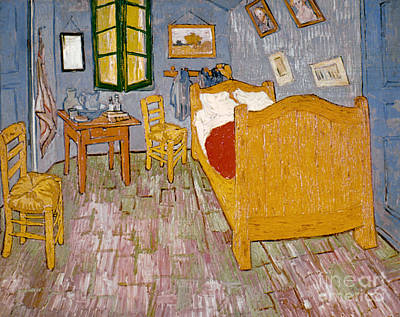 Photograph - Van Gogh: Bedroom, 1888 by Granger