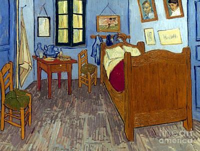 Photograph - Van Gogh: Bedroom, 1889 by Granger