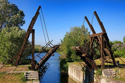 Photograph - Van Gogh Bridge In Arles by Olivier Le Queinec