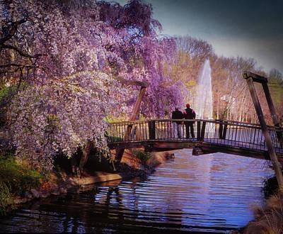 Van Gogh Bridge - Reston, Virginia Art Print