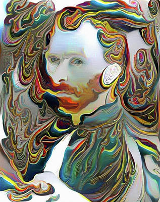 Digital Art - Van Gogh by Bruce Rolff