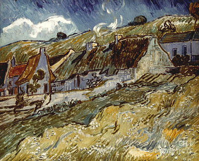 Photograph - Van Gogh: Cottages, 1890 by Granger