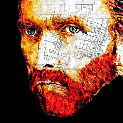 Painting - Van Gogh by Havi