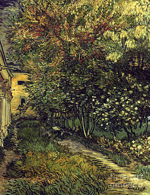 Photograph - Van Gogh: Hospital, 1889 by Granger