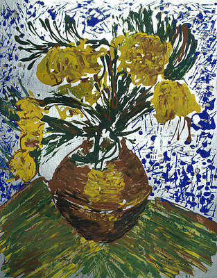 Art Print featuring the painting Van Gogh by J R Seymour