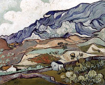 Photograph - Van Gogh: Landscape, 1890 by Granger