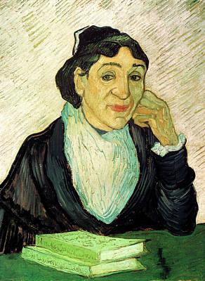 Painting - Van Gogh Madame Ginoux Larlesienne by Vincent Van Gogh