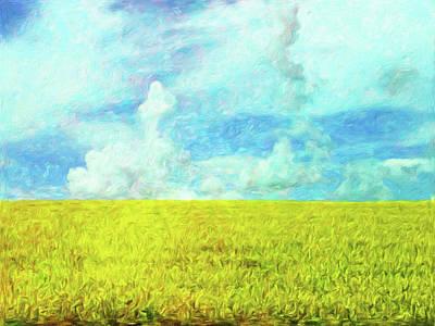 Van Gogh On The Prairie Art Print by Connie Handscomb
