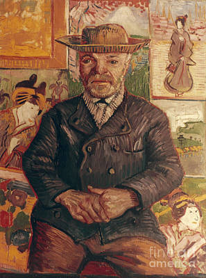 Photograph - Van Gogh: Pere Tanguy, 1887 by Granger